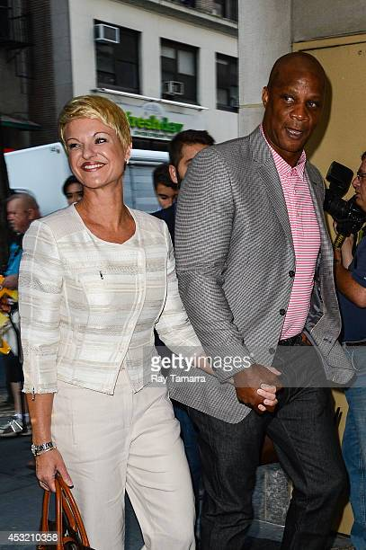 Darryl Strawberry con alegre, Esposa Tracy Boulware