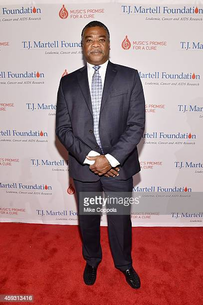 Former professional baseball player Eddie Murray attends the TJ Martell Foundation's 11th annual New York World Tour of Wine on November 20 2014 in...