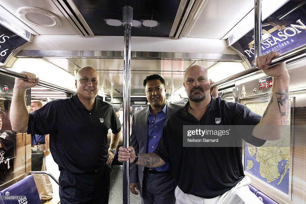 MLB On TBS 42nd Street Times Square Shuttle Unveiling