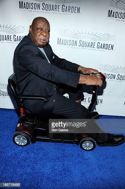 Former professional basketball player Cal Ramsey attends the Madison Square Garden Transformation Unveiling at Madison Square Garden on October 24...