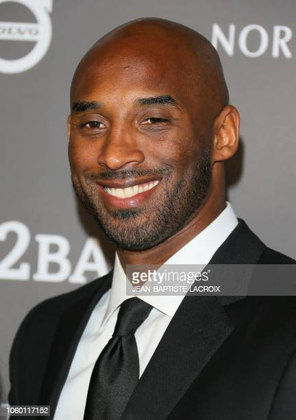Former professional basketball player Kobe Bryant attends the 2018 Baby2Baby Gala presented by Paul Mitchell at 3LABS in Culver City California on...