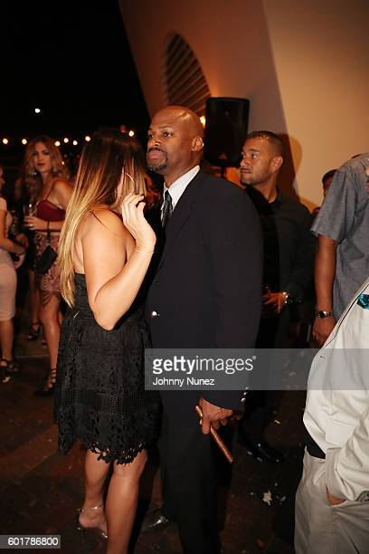 Former professional basketball player Travis Best hosts the 8th Annual Travis Best Foundation Gala at Plan B Burger Bar on September 9 2016 in...