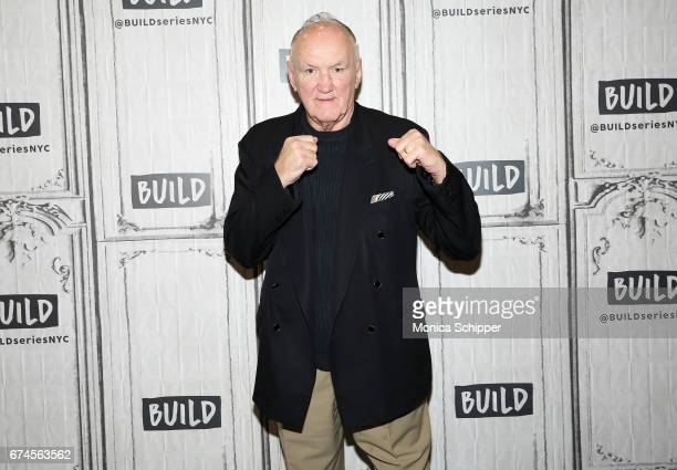 "Former professional boxer Chuck Wepner attends Build Series Presents Liev Schreiber, Philippe Falardeau and Chuck Wepner Discussing ""Chuck"" at Build..."