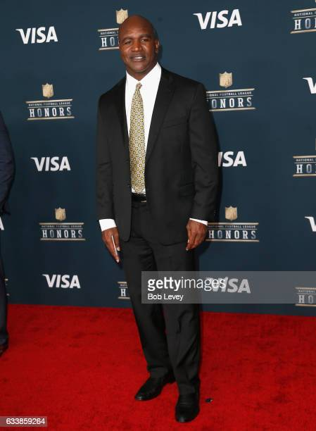 Former professional boxer Evander Holyfield attends 6th Annual NFL Honors at Wortham Theater Center on February 4 2017 in Houston Texas