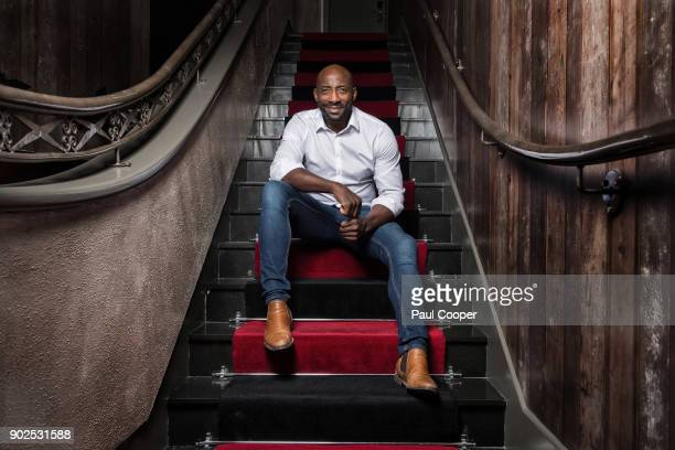 Former professional boxer Johnny Nelson is photographed for the Daily Mail on August 11, 2017 in Manchester, England.