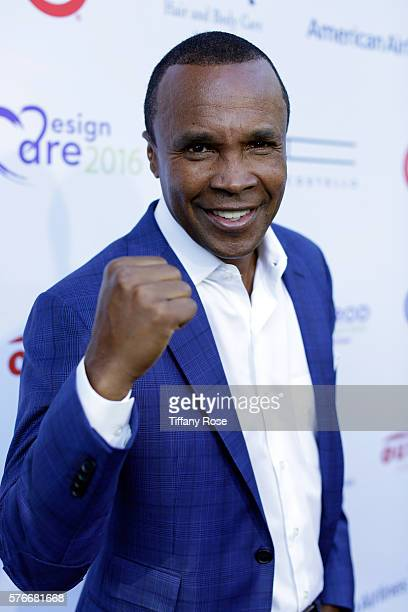 Former professional boxer Sugar Ray Leonard attends HollyRod Foundation's DesignCare Gala on July 16 2016 in Pacific Palisades California