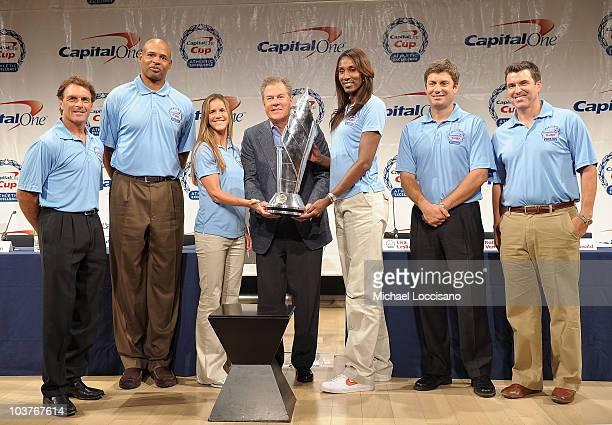 Former professional football player Doug Flutie former professional basketball player Clark Kellogg former professional soccer player Brandi Chastain...