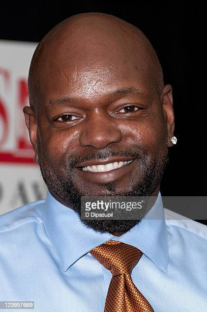 """Former professional football player Emmitt Smith promotes his book """"Game On: Find Your Purpose - Pursue Your Dream"""" at the Bookends Bookstore on..."""