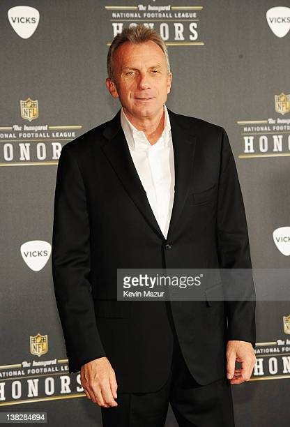 Former Professional Football Player Joe Montana attends the 2012 NFL Honors at the Murat Theatre on February 4 2012 in Indianapolis Indiana