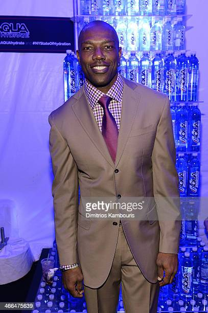 Former professional football player Terrell Owens attends Talent Resources Sports presents MAXIM 'BIG GAME WEEKEND' sponsored by AQUAhydrat Heavenly...