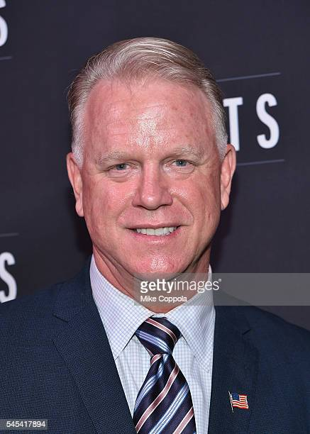Former professional football player/media personality Boomer Esiason 2016 CLIO Sports Awards at Capitale on July 7 2016 in New York City