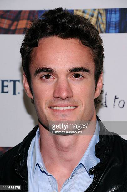 Former professional rugby player Thom Evans attends the 9th annual Dressed to Kilt charity fashion show at the Hammerstein Ballroom on April 5 2011...