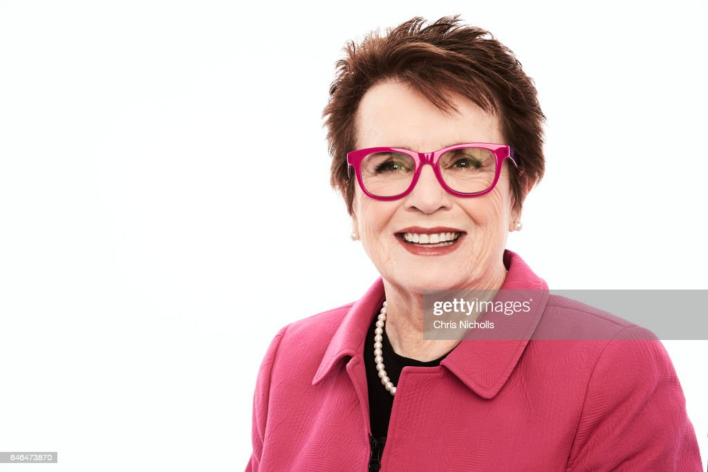 Former professional tennis player Billie Jean King of Fox Searchlight Pictures' 'Battle of the Sexes' is photographed at the Toronto Film Festival for Self Assignment on September 10, 2017 in Toronto, Ontario.