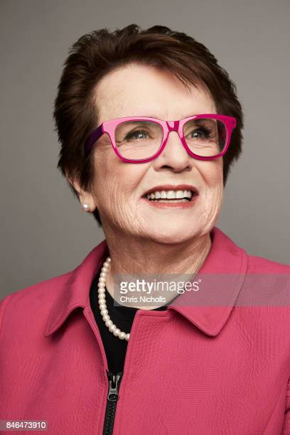 Former professional tennis player Billie Jean King of Fox Searchlight Pictures' 'Battle of the Sexes' is photographed at the Toronto Film Festival...