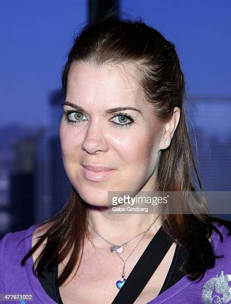 Former professional wrestler Joanie Chyna Laurer attends One Step Closer Foundation's event at the VooDoo Zip Line at the Rio Hotel Casino as part of...
