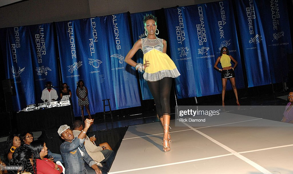 Former Project Runway Designer Mychael Knight S Fashion Show At The News Photo Getty Images