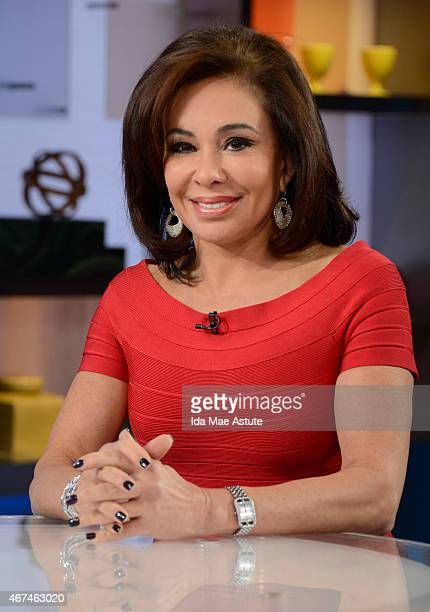 AMERICA Former prosecutor and judge Jeanine Pirro appears on GOOD MORNING AMERICA 3/24/15 airing on the Walt Disney Television via Getty Images...