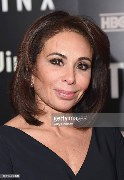 Former prosecutor and TV personality Jeanine Pirro attends The Jinx New York Premeire at Time Warner Center on January 28 2015 in New York City
