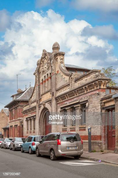 former public baths of abbeville - gwengoat stock pictures, royalty-free photos & images