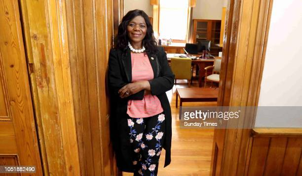 Former public protector adv Thuli Madonsela poses for a portrait during an interview on October 04 2018 in Stellenbosch South Africa Madonsela is now...