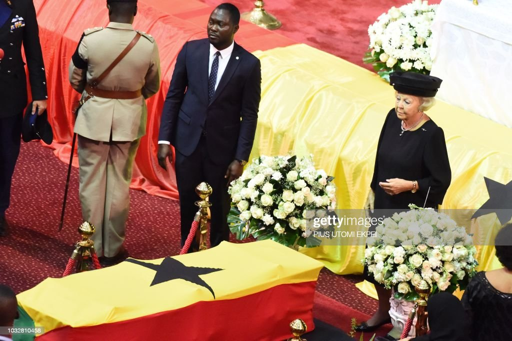 GHANA-UN-FUNERAL-ANNAN : News Photo