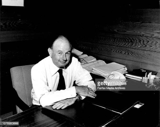 """Former Quiz Kid Mike Connors who is a Lawyer photographed at his Office today.He is with the Firm, """"O'Brien and Connors"""" in Dee Why. February 8,..."""
