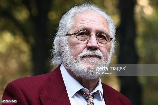 Former radio and TV presenter Dave Lee Travis, real name David Patrick Griffin, arrives at Southwark Crown Court for a re-trial on September 18, 2014...
