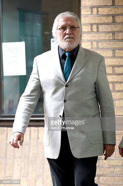 Former radio and TV presenter Dave Lee Travis real name David Patrick Griffin departs Southwark Crown Court after being found guilty of one count of...