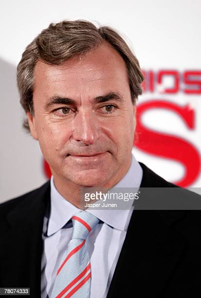 Former rally driver Carlos Sainz during the 2007 Sports Awards by Diario AS at the Telefonica Arena on November 22 2007 in Madrid Spain