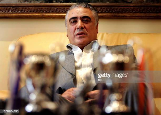 Former Real Madrid FC President Lorenzo Sanz one of five candidates for the club's presidency appears in Madrid 15 June 2006 Five candidates put...