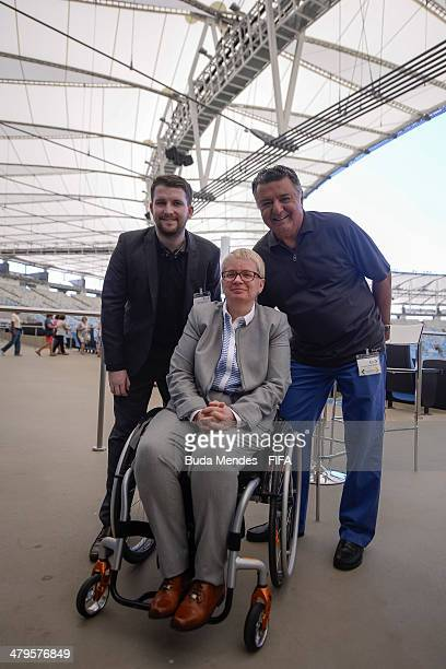 Former referee Arnaldo Cezar Coelhowho refereed the final of the Fifa World Cup Spain 1982 and Managing Director of Centre for Acess to Football in...