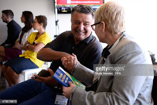 Former referee Arnaldo Cezar Coelhowho refereed the final of the Fifa World Cup Spain 1982 delivers a rulebook of football for the Managing Director...