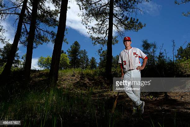 Former Regis Jesuit player Max George is expected to be drafted in the MLB draft after a successful high school career George posed for a portrait at...