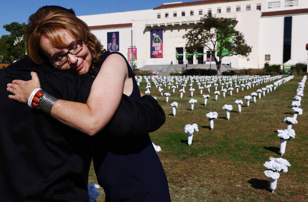 CA: Gun Violence Memorial Art Installation Installed In Los Angeles Park