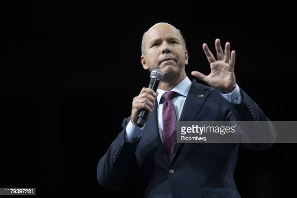 Former Representative John Delaney, 2020 presidential candidate, speaks during the Iowa Democratic Party Liberty & Justice dinner in Des Moines,...
