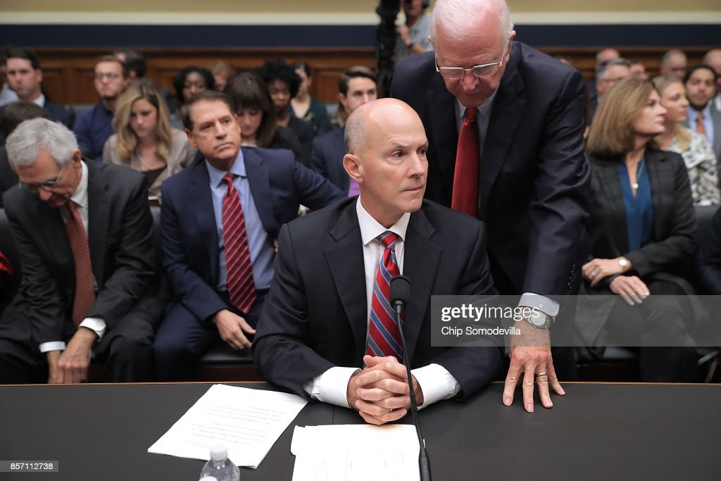 Former CEO Equifax Richard Smith Testifies To Senate Subcommittee On Company's Massive Data Breach
