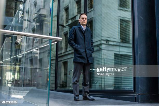 Former rogue trader and investment banker Alexis Stenfors is photographed for The Times on April 24 2017 in London England