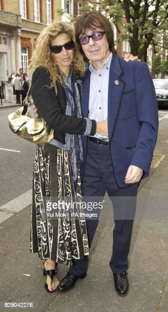 Former Rolling Stone member Bill Wyman and his wife during the unveiling of a Heritage Foundation Blue Plaque in honour of the late record producer...