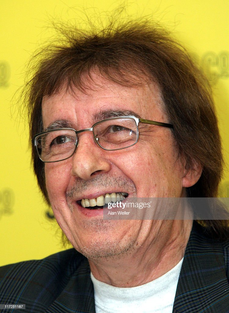 Former Rolling Stones bassist Bill Wyman signs copies of his new book The Stones: A History in Cartoons at Selfridges, London.