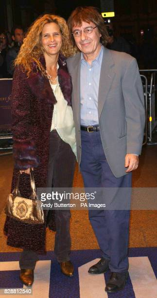 Former Rolling Stones guitarist Bill Wyman and wife Suzanne arrive for the DVD screening of A Concert For George at Odeon West End in central London...