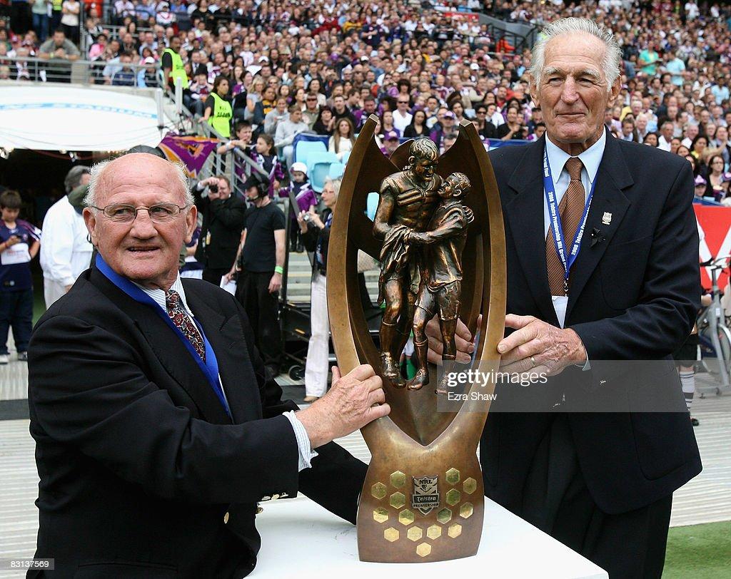 2008 NRL Grand Final - Sea Eagles v Storm : News Photo