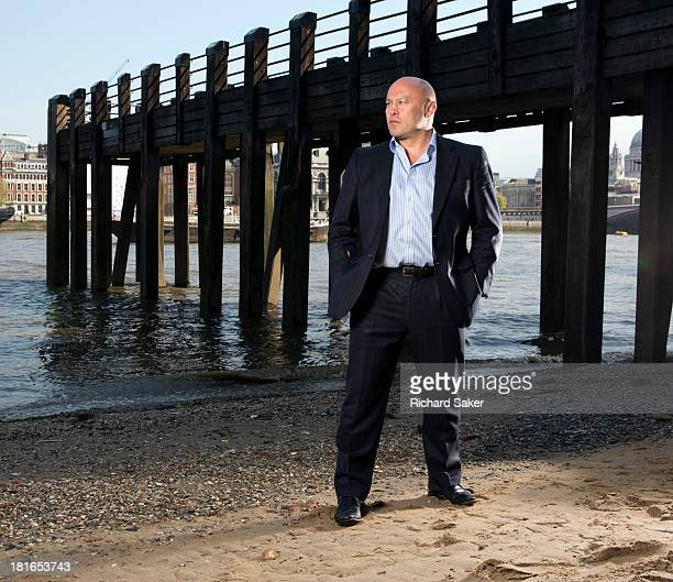 Former rugby player Brian Moore is photographed for the Observer on May 7 2013 in London England