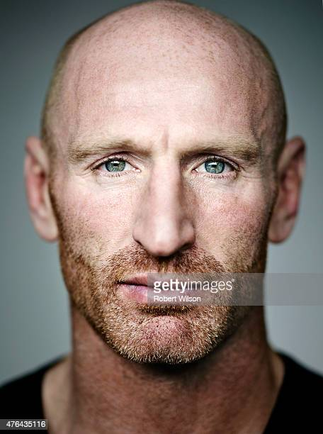 Former rugby player Gareth Thomas is photographed for the Times on November 7 2013 in London England