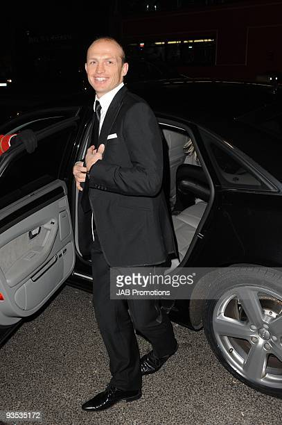 Former rugby union player Matt Dawson attends the AUDI Arrivals at The Morgan's awards hosted by Piers Morgan at Mandarin Oriental Hyde Park on...