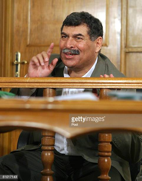 Former Saddam Hussein lieutenant Sultan Hashim Ahmed responds as a list of charges that he along with 10 other high level defendents and exPresident...