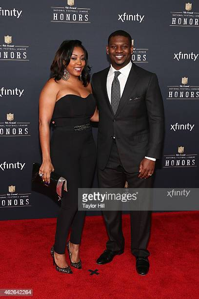 Former San Diego Chargers running back LaDanian Tomlinson attends the 2015 NFL Honors at Phoenix Convention Center on January 31 2015 in Phoenix...