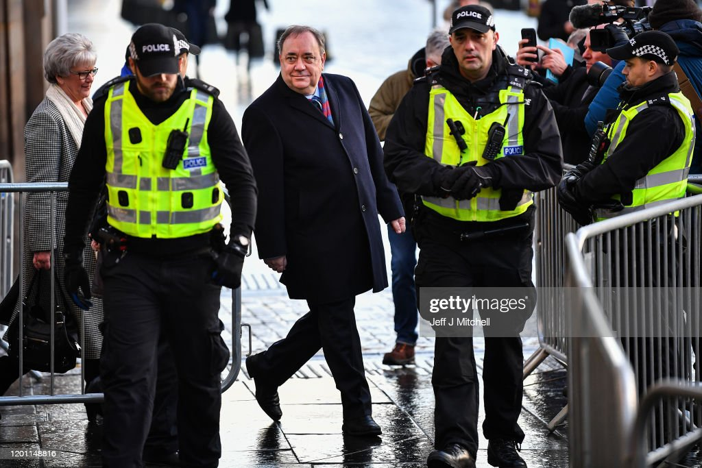 Preliminary Hearing For Alex Salmond Facing Charges Of Rape And Sexual Assault : News Photo