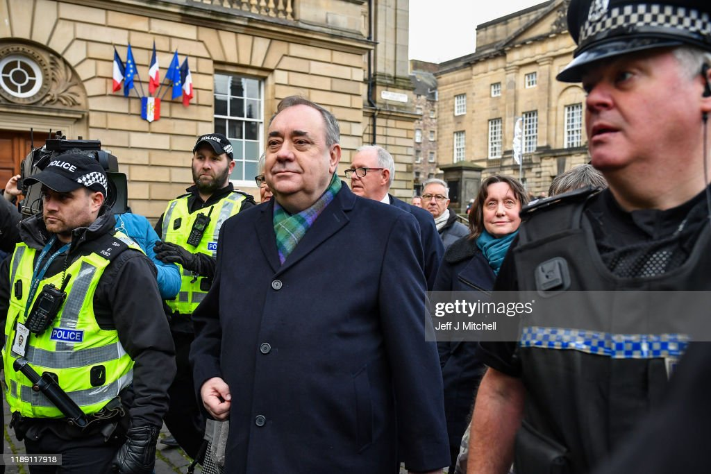 Alex Salmond Appears In Court Charged With A Variety Of Sexual Offences : News Photo