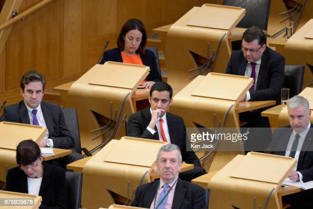 Former Scottish Labour leader Kezia Dugdale on her last day in the chamber of the Scottish Parliament before travelling to join the cast of 'I'm a...