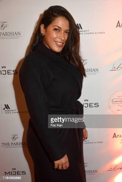"""Former Secret Story comedian/NRJ12 TV presenter Ayem Nour attends 2nd """"Le Grand Diner"""" At Marriott Champs Elysees on October 30, 2019 in Paris,..."""